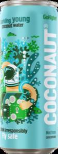 фото COCONAUT Вода кокосовая газированная ж/б 320 мл