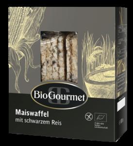 фото BIOGOURMET Хлебцы Кукурузные с чёрным рисом БИО 100 г