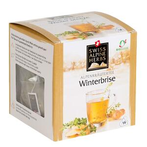 фото SAH ALPENKRAUTER Чай травяной Зимний с имбирём пкт 14*1 г