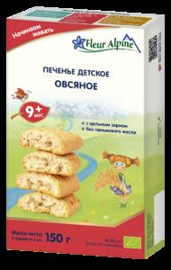 фото ФЛЁР АЛЬПИН Печенье детское Овсяное с 6 мес 150 г