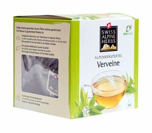 фото SAH ALPENKRAUTER Чай травяной Вербена пкт 14*1 г