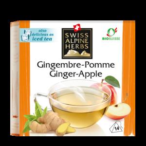 фото SAH ALPENKRAUTER Чай травяной Имбирно-яблочный пкт 14*2 г