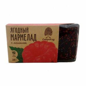 фото СИБИРСКИЙ КЕДР Мармелад ягодный с малиной 200 г