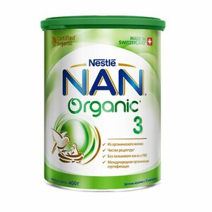 фото NAN 3 Органик напиток Детский молочный сухой с 12 мес 400 г