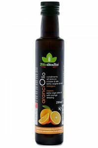 фото BIOITALIA Масло оливковое нерафинированное Extra Virgin Orange высшего качества с апельсином ст/б 250 мл