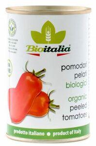 фото BIOITALIA Томаты очищенные в томатном соке ж/б 400 г