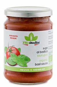 фото BIOITALIA Соус томатный с базиликом ст/б 350 г