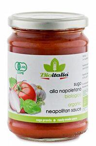 фото BIOITALIA Соус томатный Наполетано с луком чесноком орегано ст/б 350 г