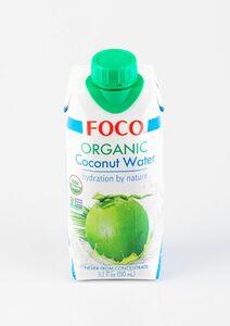 фото FOCO Вода кокосовая органик  330 мл