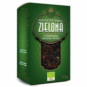 фото DARY NATURY Чай зелёный цейлонский с клюквой, малиной и шиповником ЭКО 80 г