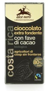 фото ALCE NERO Шоколад Горький с дроблеными зернами какао 100 г